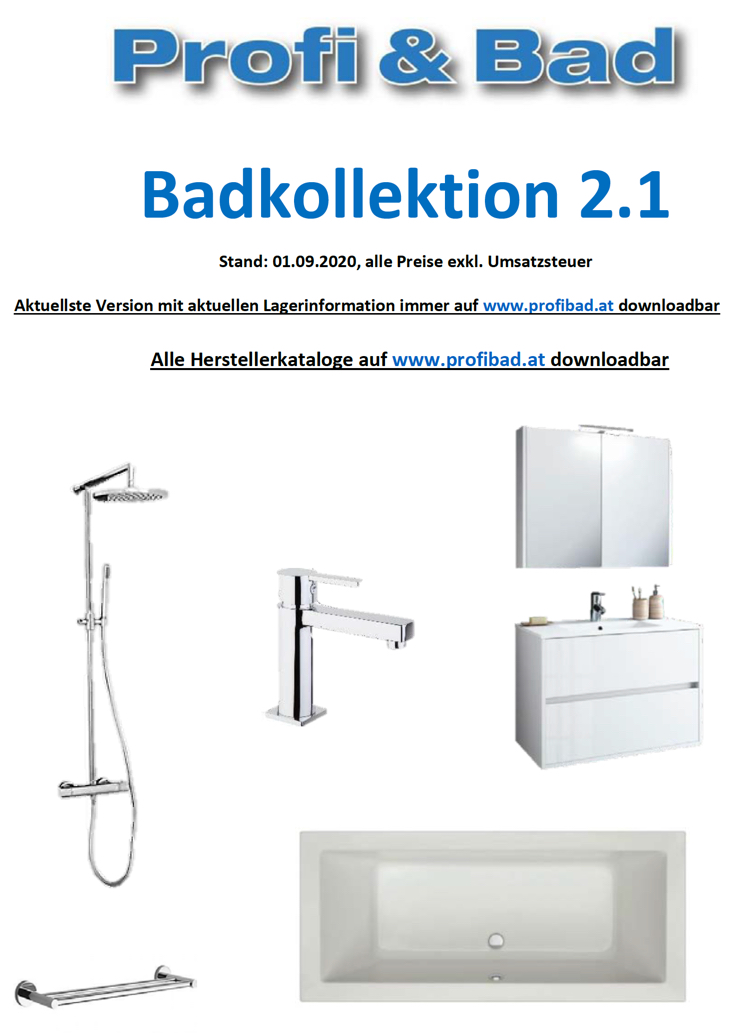 Profi & Bad Badkollektion 2.1
