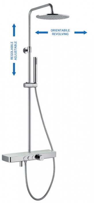 Duschsystem-rund